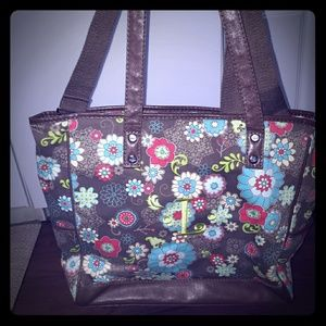 "thirty-one Bags - Thirty One Handled/Adjustable Strap Tote with ""L"""